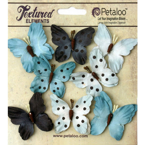 Petaloo - Darjeeling Collection - Butterflies - Teastained Blue