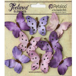 Petaloo - Darjeeling Collection - Butterflies - Teastained Purple