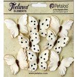 Petaloo - Darjeeling Collection - Butterflies - Teastained Cream