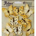 Petaloo - Darjeeling Collection - Butterflies - Teastained Yellow
