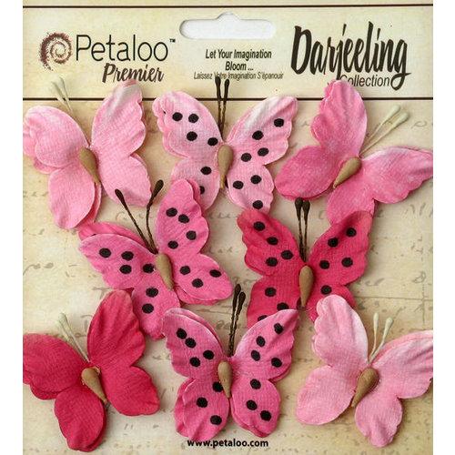 Petaloo - Darjeeling Collection - Butterflies - Teastained Pink