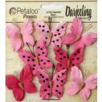 Petaloo - Darjeeling Collection - Butterflies - Teastained Pink