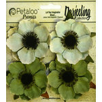 Petaloo - Darjeeling Collection - Floral Embellishments - Anenome - Green