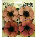 Petaloo - Darjeeling Collection - Floral Embellishments - Anenome - Spice