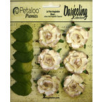 Petaloo - Darjeeling Collection - Floral Embellishments - Garden Rosette - Cream