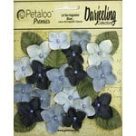 Petaloo - Darjeeling Collection - Floral Embellishments - Hydrangeas - Blue