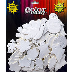 Petaloo - Color Me Crazy Collection - Cotton Paper Shapes - Fall and Halloween