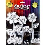 Petaloo - Color Me Crazy Collection - Silhouettes - Daisies