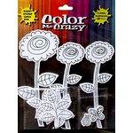 Petaloo - Color Me Crazy Collection - Silhouettes - Dahlias
