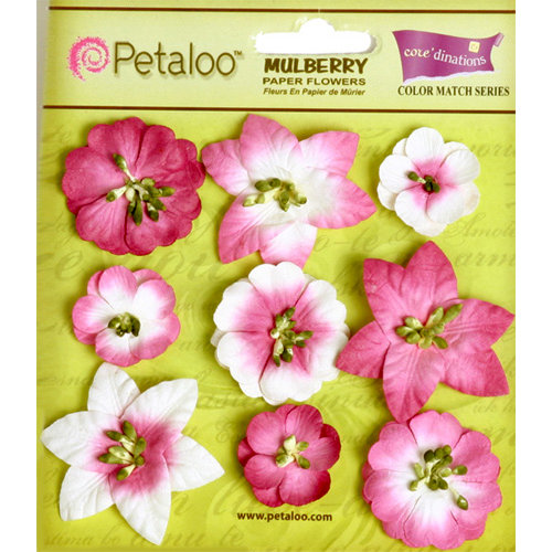 Petaloo - Flora Doodles Collection - Mulberry Flowers - Mini Floral - Love Potion