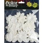 Petaloo - Color Me Crazy Collection - Mulberry Paper Flowers - Christmas Assortment