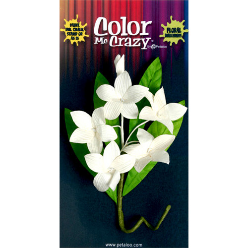 Petaloo - Color Me Crazy Collection - Orchid Spray - Plumeria