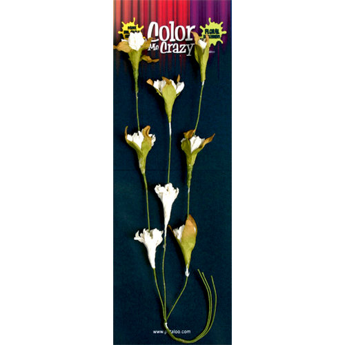 Petaloo - Color Me Crazy Collection - Wild Spray - Flowering