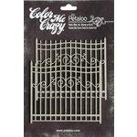Petaloo - Color Me Crazy Collection - Chipboard Pieces - Gates