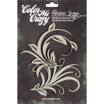 Petaloo - Color Me Crazy Collection - Chipboard Pieces - Flourishes