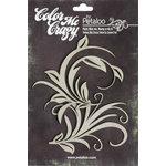 Petaloo - Color Me Crazy Collection - Chipboard Pieces - Flourishes