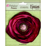 Petaloo - Expressions Collection - Bohemian Silk Flower - Fuschia