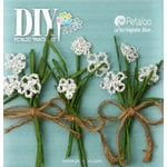 Petaloo - DIY Paintables Collection - Floral Embellishments - Queen Annes Pick - White