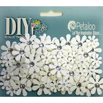 Petaloo - DIY Paintables Collection - Floral Embellishments - Jewel Florettes - Crystal Centers