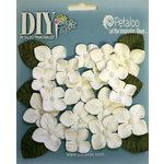 Petaloo - DIY Paintables Collection - Floral Embellishments - Hydrangeas - White