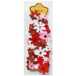 Petaloo - Felt Flower Garland - Valentines - 4 Feet