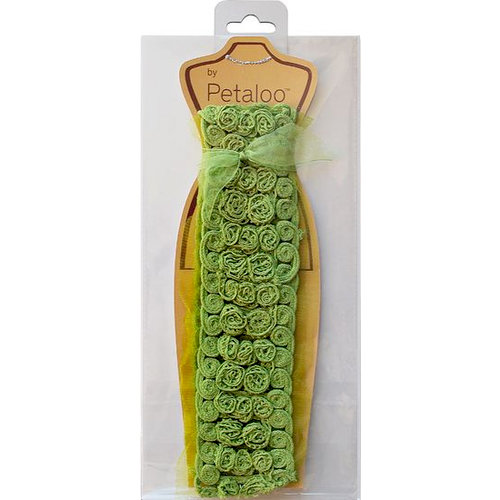 Petaloo - Fabric Trims - Green - Bailey