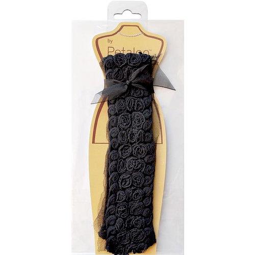 Petaloo - Fabric Trims - Black - Bailey