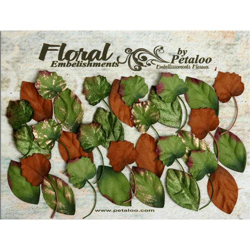 Petaloo - Canterbury Collection - Magnolia and Grape Leaves