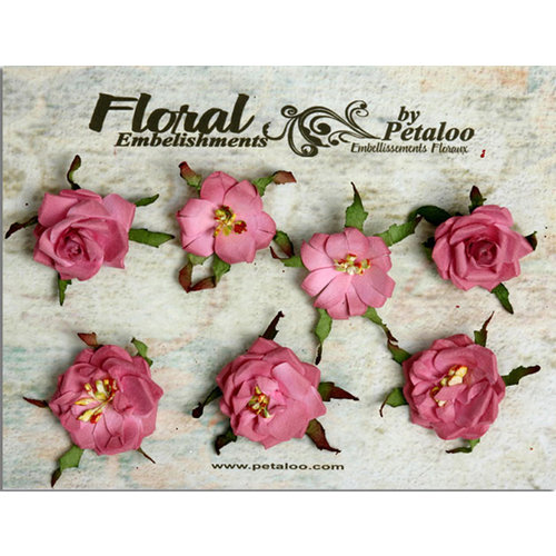 Petaloo - Canterbury Collection - Rose Blossoms - Mauve