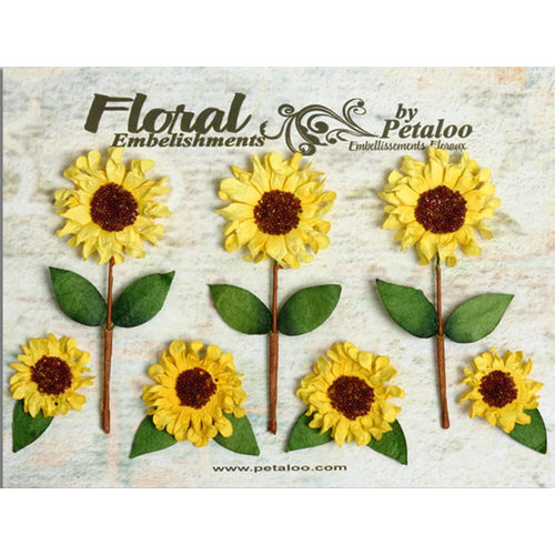 Petaloo - Canterbury Collection - Sunflower Blossoms