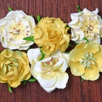 Petaloo - Canterbury Collection - Roses - Lemon
