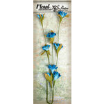 Petaloo - Canterbury Collection - Flowering Vine Spray - Turquoise