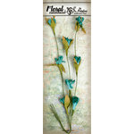 Petaloo - Canterbury Collection - Flowering Vine Spray - Teal