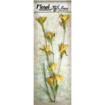Petaloo - Canterbury Collection - Flowering Vine Spray - Yellow