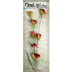 Petaloo - Canterbury Collection - Flowering Vine Spray - Red