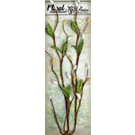 Petaloo - Canterbury Collection - Willow Vine - White and Yellow
