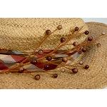 Petaloo - Canterbury Collection - Berry Spray - Brown