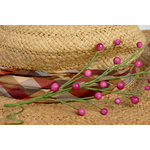 Petaloo - Canterbury Collection - Berry Spray - Fuchsia