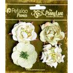 Petaloo - Penny Lane Collection - Floral Embellishments - Ruffled Roses - Mint