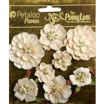 Petaloo - Penny Lane Collection - Floral Embellishments - Mixed Blossoms - Antique Beige