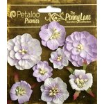 Petaloo - Penny Lane Collection - Floral Embellishments - Mixed Blossoms - Soft Lavender