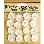 Petaloo - Penny Lane Collection - Floral Embellishments - Forget me Nots - White