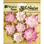 Petaloo - Penny Lane Collection - Floral Embellishments - Mini Wild Roses - Soft Pink