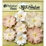 Petaloo - Penny Lane Collection - Floral Embellishments - Mini Wild Roses - Antique Mauve