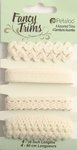 Petaloo - Flora Doodles Collection - Fancy Trims - Beige