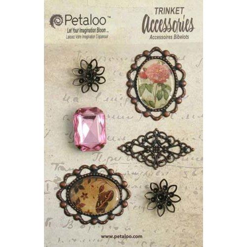 Petaloo - Printed Darjeeling Collection - Vintage Trinkets