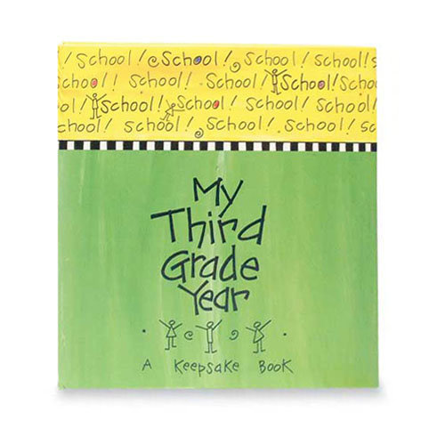 Penny Laine Papers - Book Mates Collection - Keepsake Book - My Third Grade Year