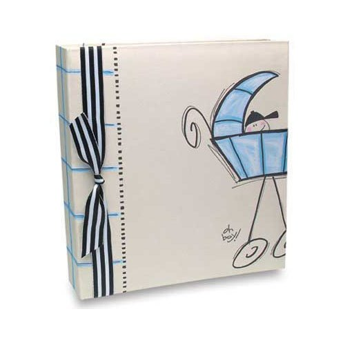 Penny Laine Papers - Keepsake Baby Books Collection - Boy Carriage