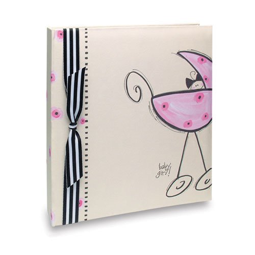 Penny Laine Papers - Keepsake Baby Books Collection - Girl Carriage