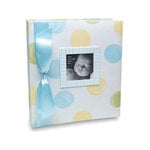 Penny Laine Papers - Keepsake Baby Books Collection - Large Dots - Boy
